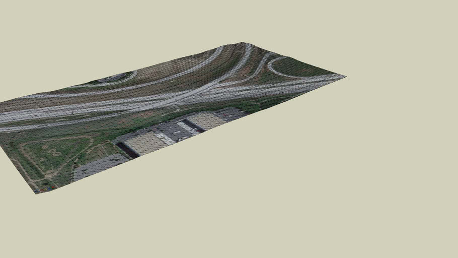 Pena bridge over I-70