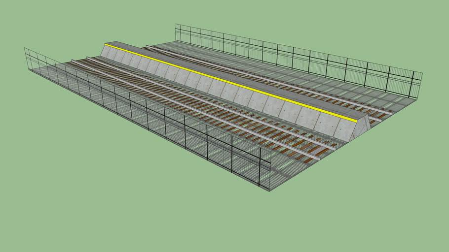 L-Train Ground Level Track