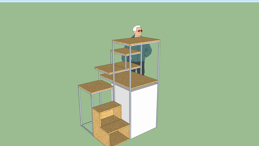 Tiny House Compact Staircase
