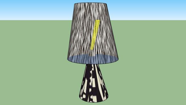 A strange lamp