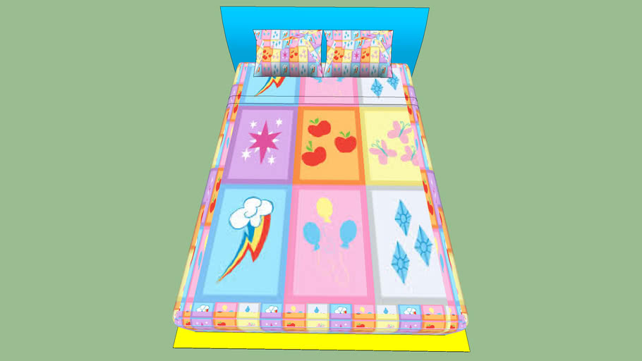 Bed for the Brony in your life