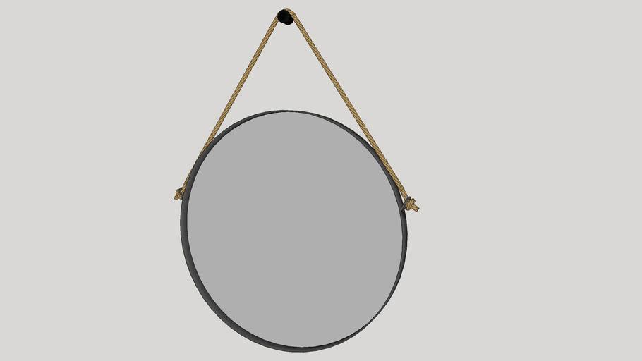 Espelho Redondo Hanói 75cm