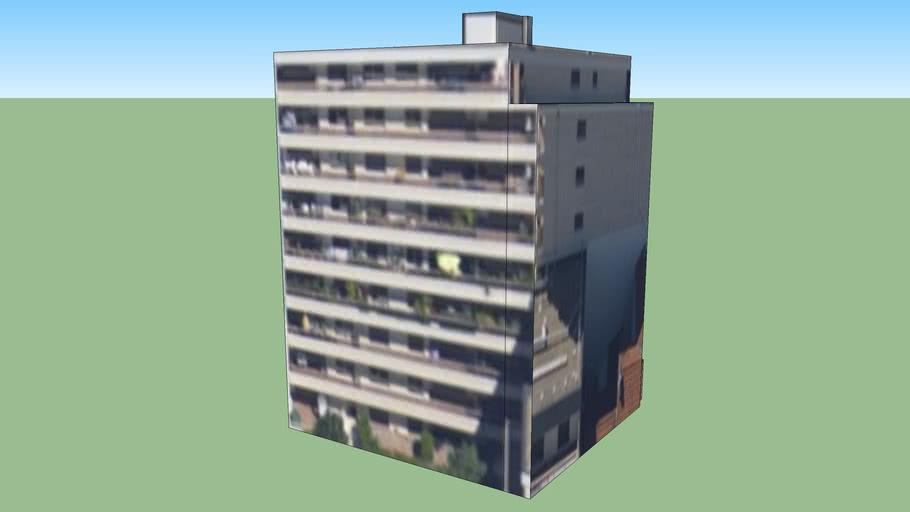 Immeuble 01 - Rue de la Jarry, Vincennes