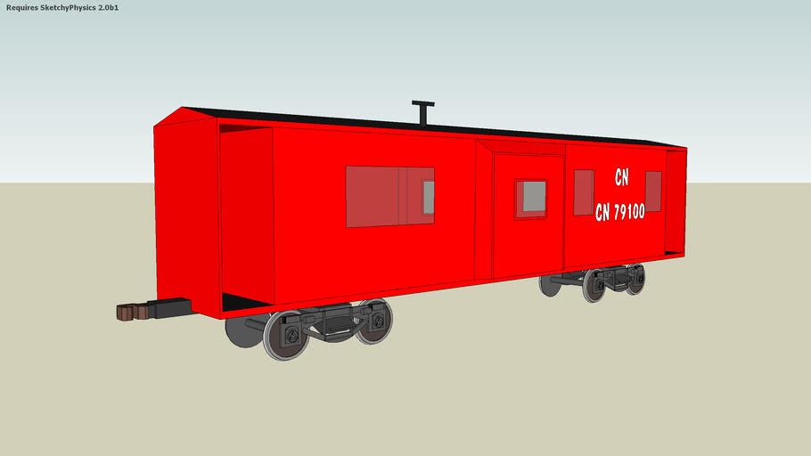 My second caboose