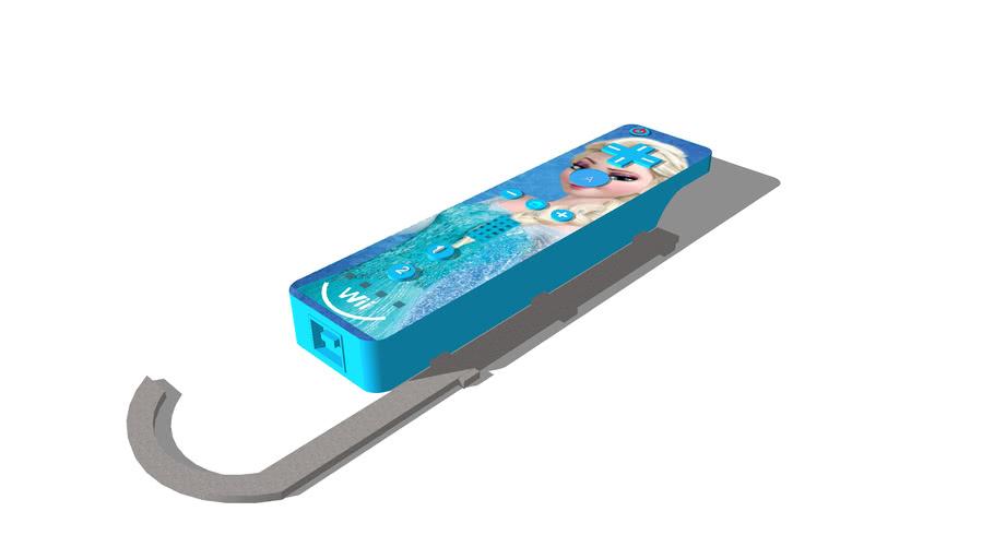 ****Custom Frozen Wii Remote **** (Fictional)