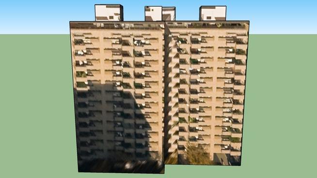 Building in Shibuya Ward, Tōkyō Metropolis, Japan