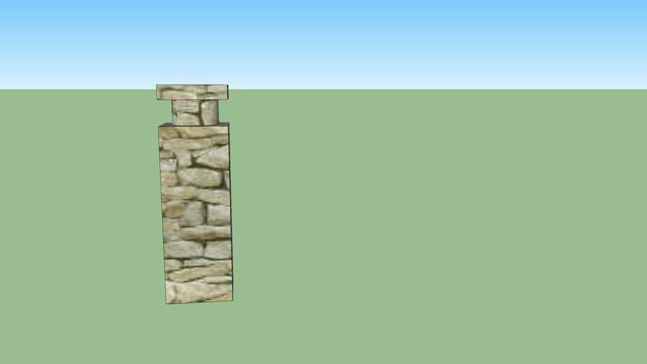 Hudonia Island pillar
