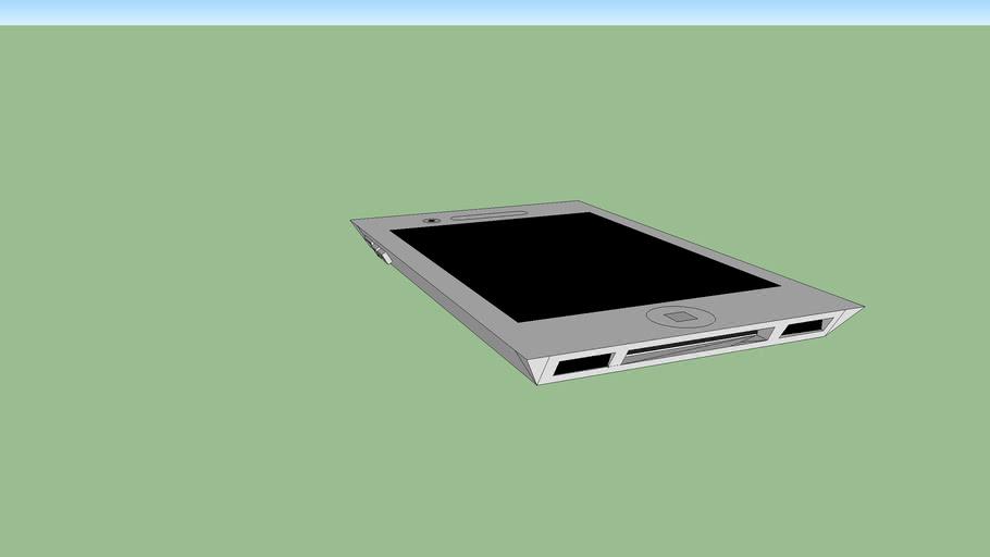 iPhone 5 White Model Concept