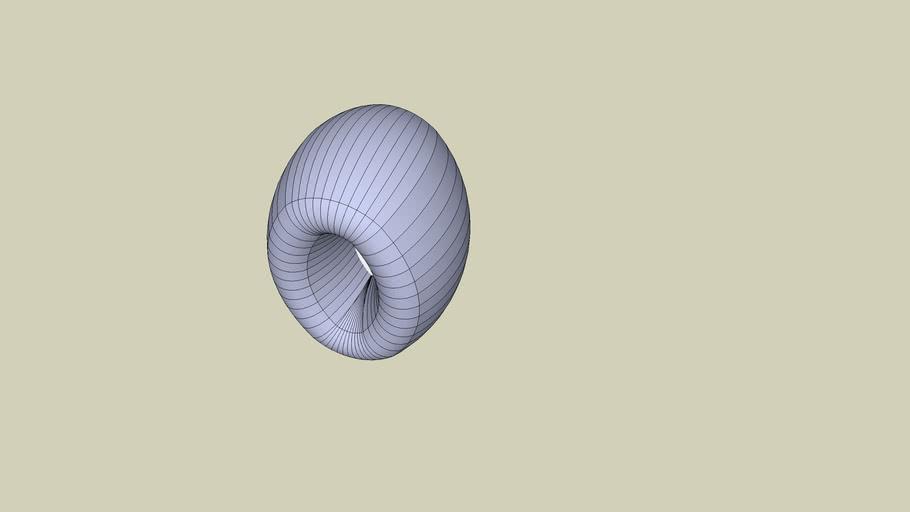 Weird doughnut sort of shape