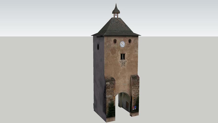La tour et la porte de Munster