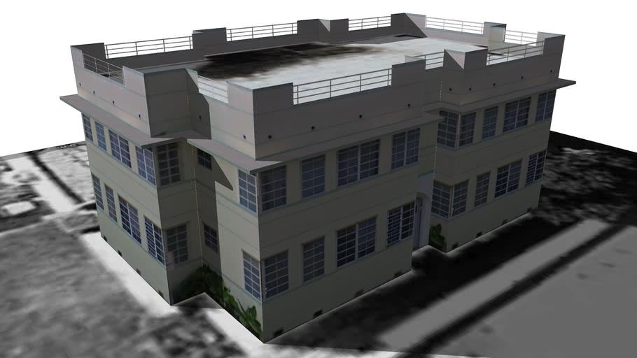 Streamline Moderne apartment building, Miami Beach