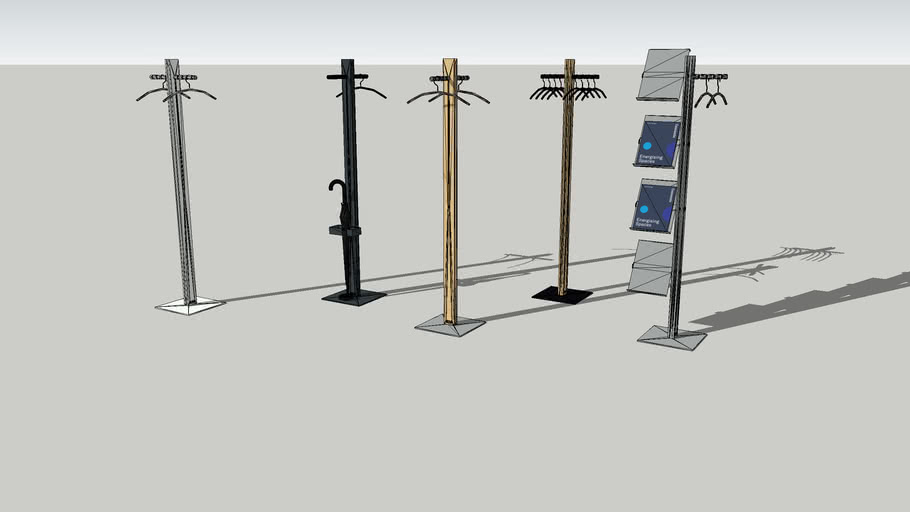 Coat stand - Standfree serie