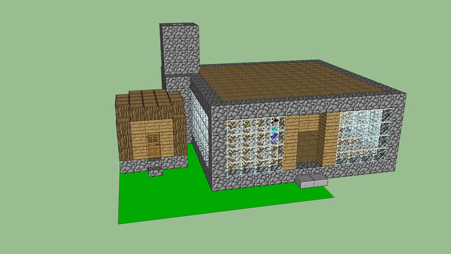 Minecraft Houses 3d Warehouse
