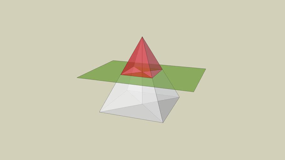 piramida i ravnina