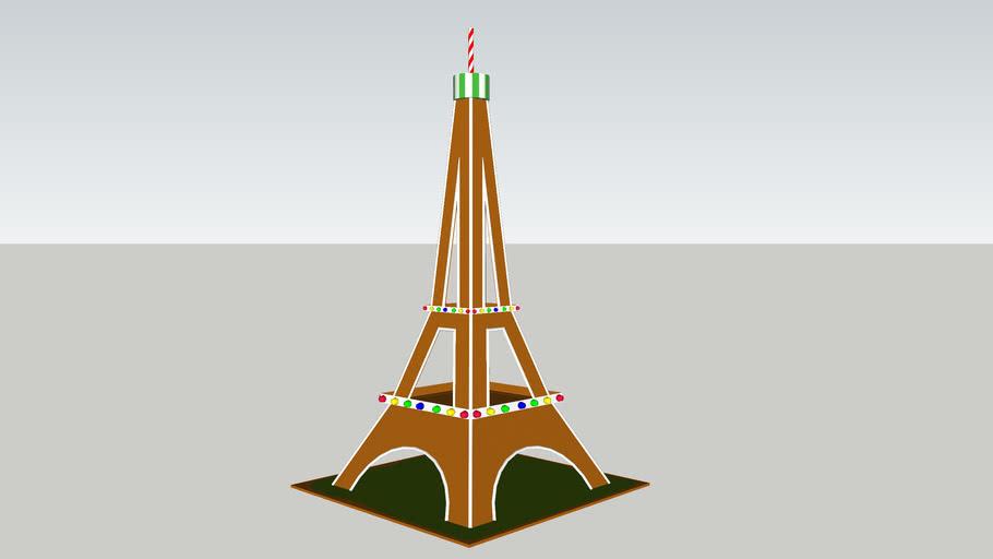 Gingerbread Eiffel