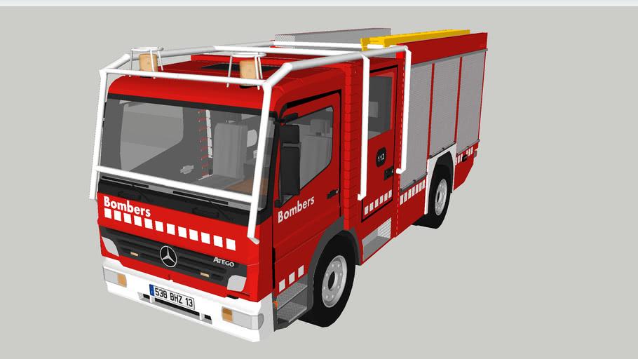 bomberos catalunya bup emergencias