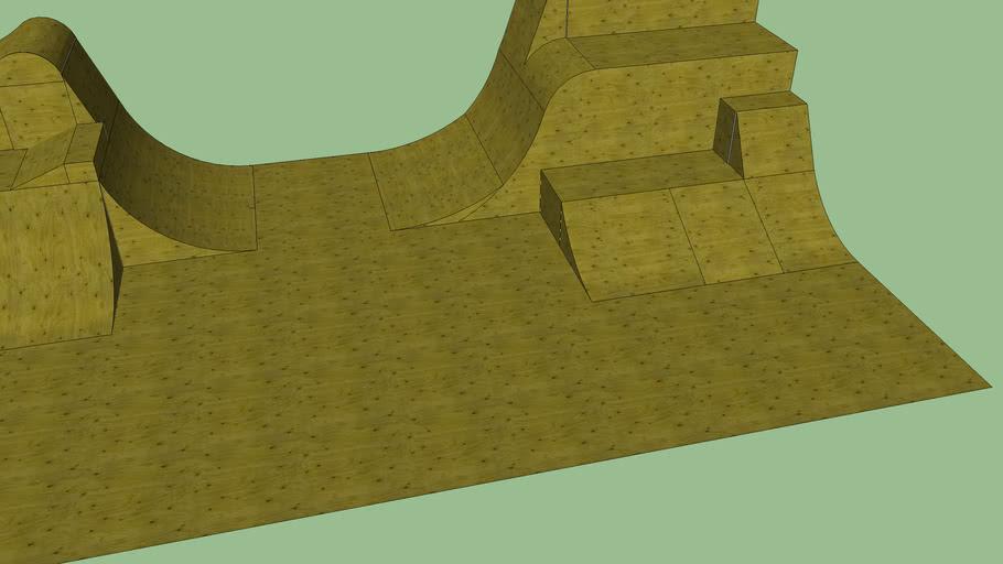 Unfinshed skate park
