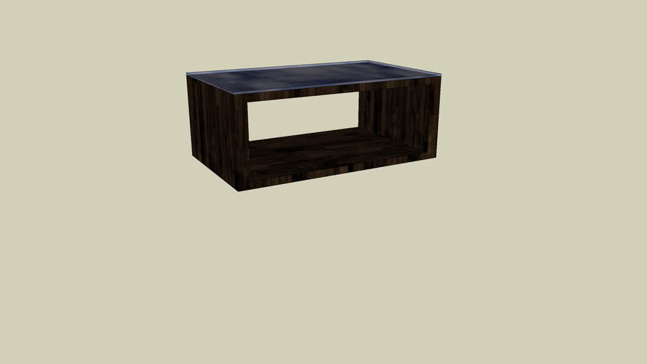 table basse wengé