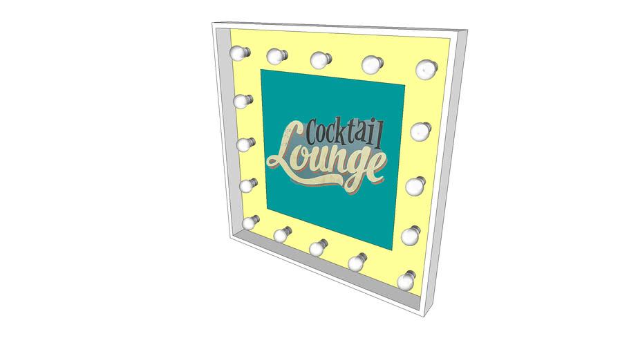 Cocktail / Bar Sign