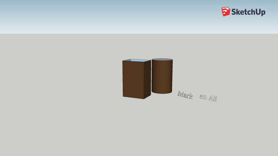 1. Simple introduction to Sketchup free, basic 3D shapes