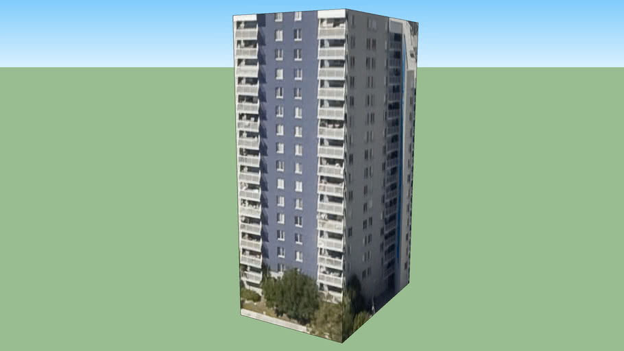 迈阿密, 佛罗里达州, 美国的建筑模型