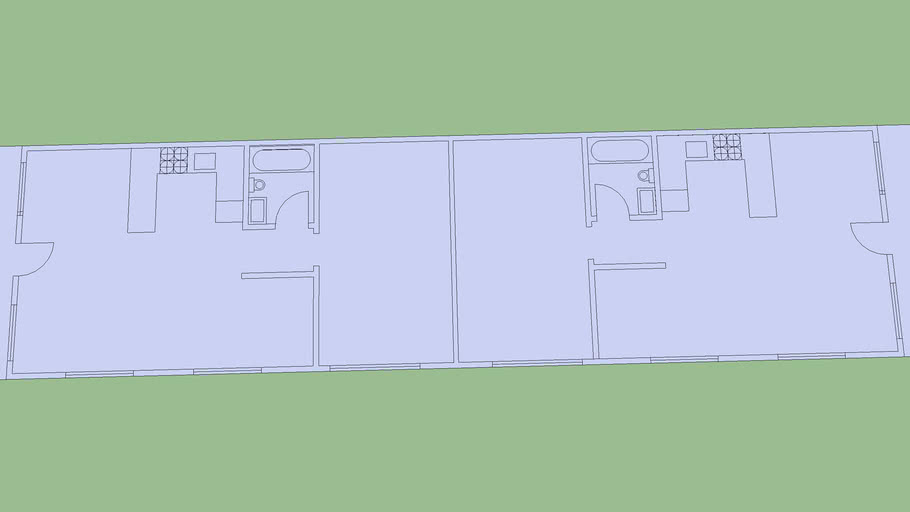 Downstairs Apartments Floor Plan