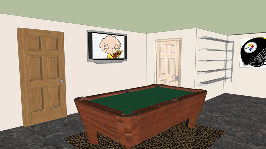 Eric Smiths Planned Pool Room