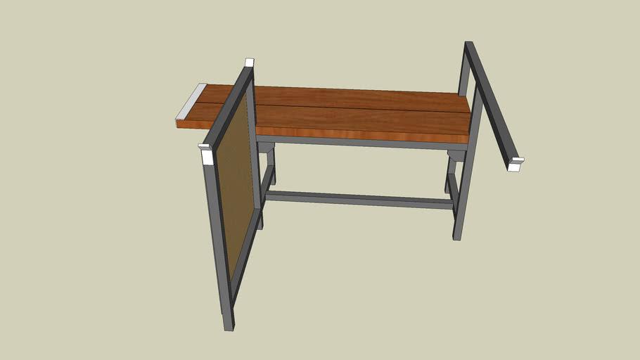 Glassblowers Bench -- Glassblowing Equipment