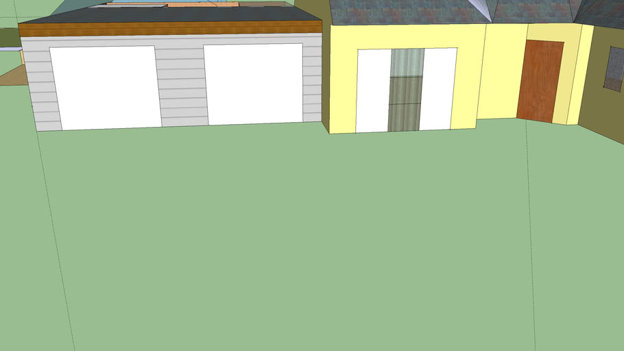 poolhouse et garage double cosquerou