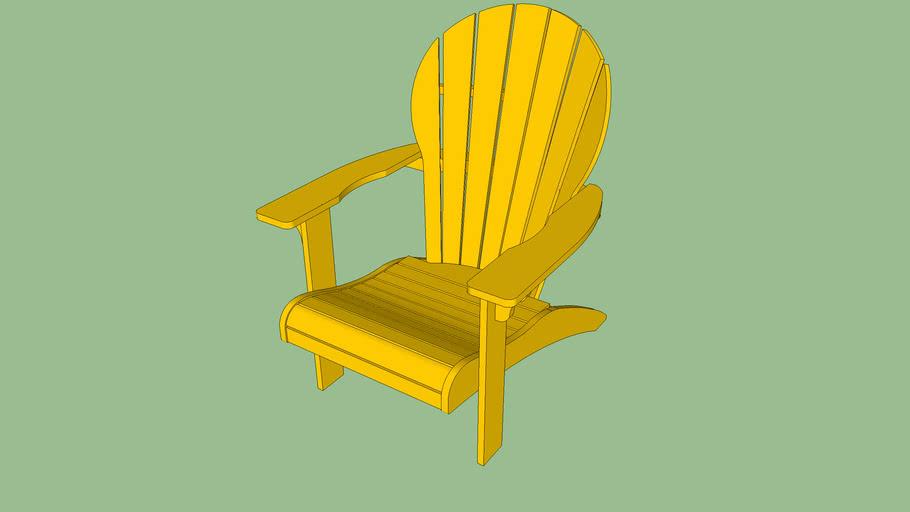 Cadeira Adeli (amarelo)