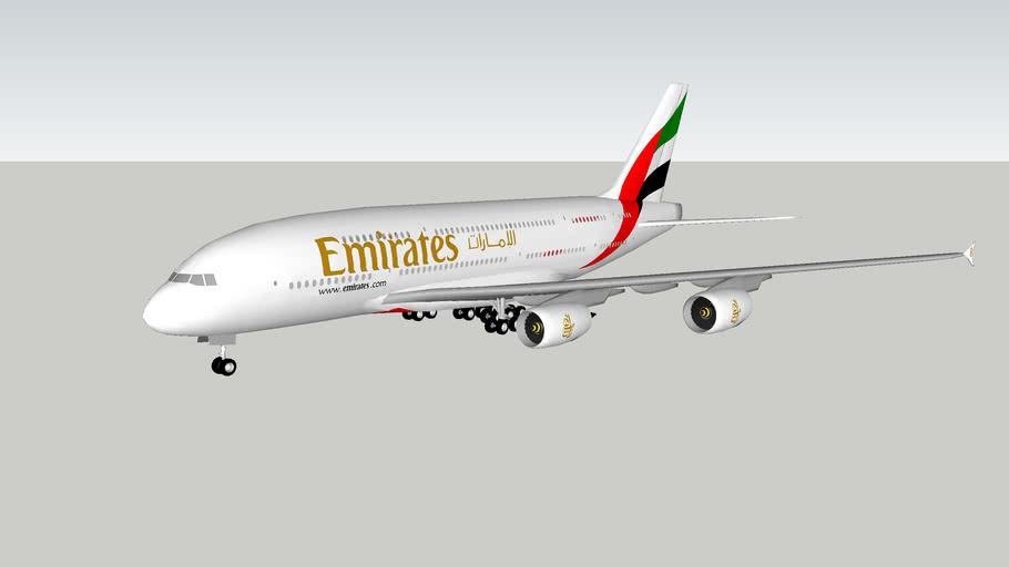 Emirates Airbus A380-841