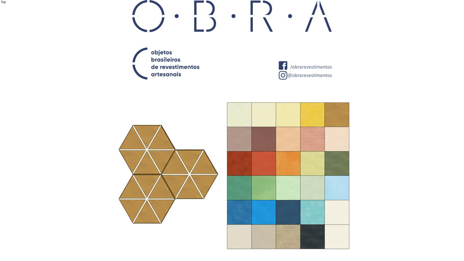 Ladrilho Clarice - OBRA Revestimentos