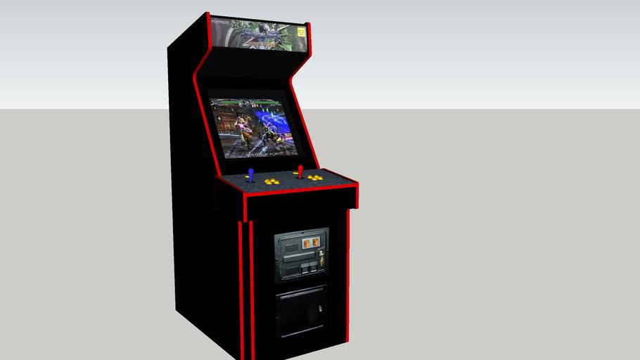 Soul Calibur 3 arcade game (Midway Cabinet)