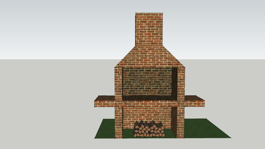 Outdoor Brick Grill Warehouse
