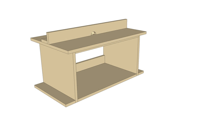 MDF Router Table