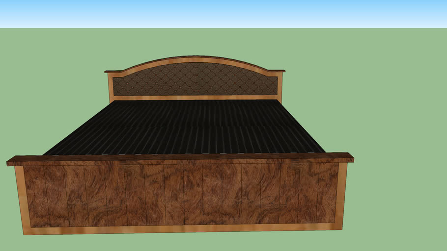 King Size Custom Bed