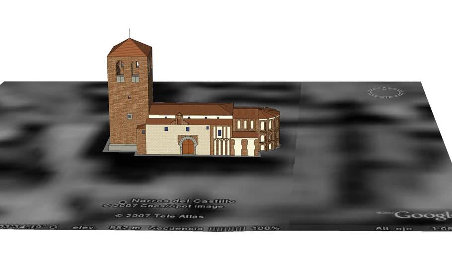 Iglesia de Narros del Castillo, Avila, Spain