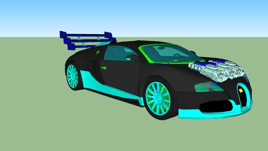 Pheonix Bullet bugatti veyron super sport lookalike