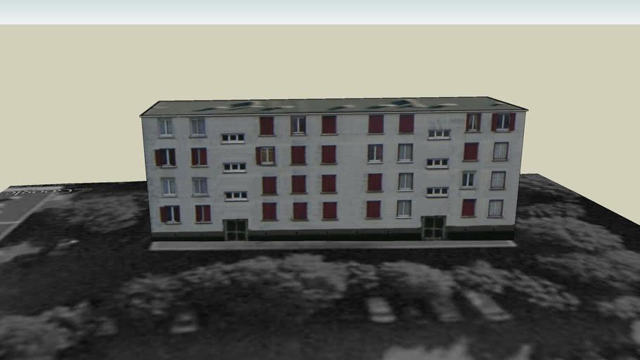 immeuble de Stains