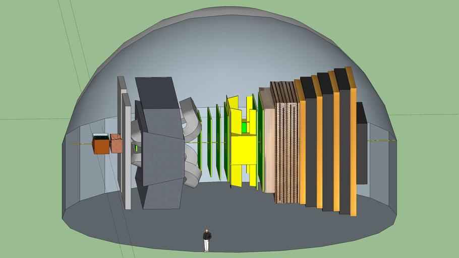 Experiment LHCB at LHC. CERN.