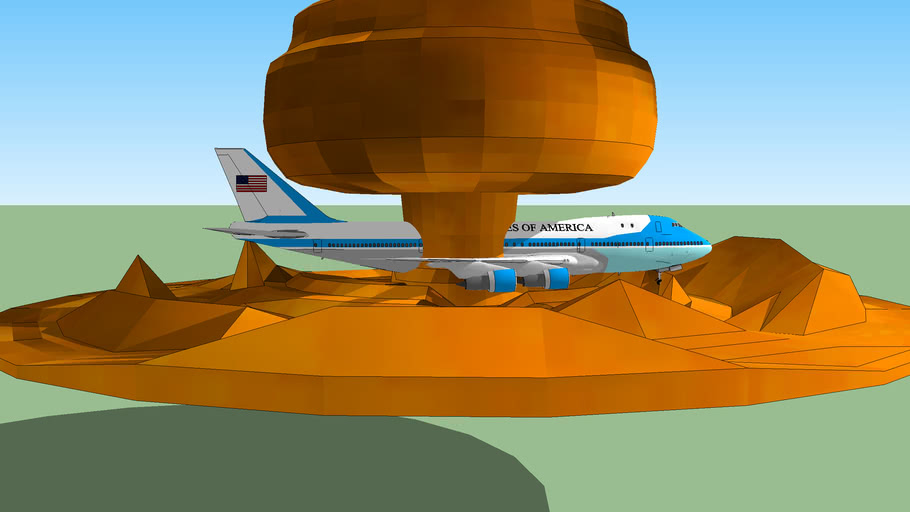 Air Force One Go Boom