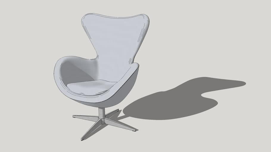 Egg Chair, кресло Яйцо