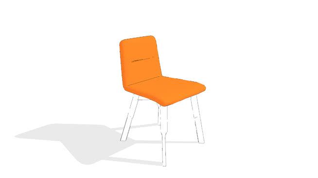 Bracket Chair by Gus* Modern