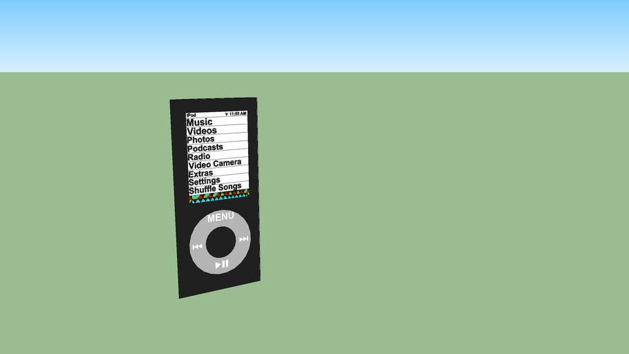 ipod shuffle 5g music-player Charles S