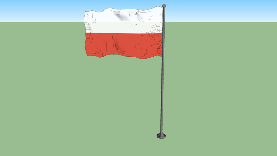 Flag of Poland (1928-1980)
