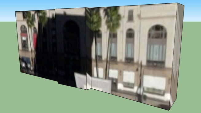 Building in Beverly Hills, CA 90210, USA