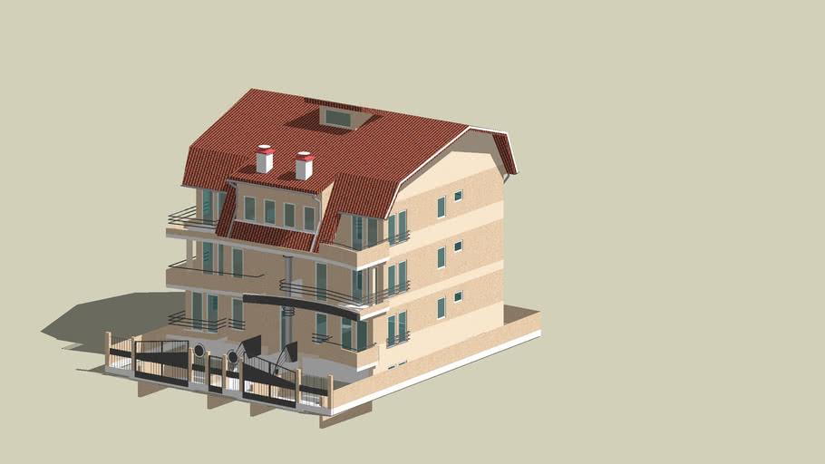 3D model Stambenog objekta - PROJEKTANT ARHITEKONTURA