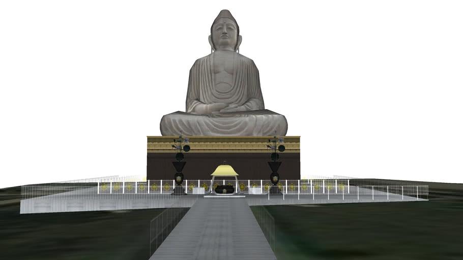 GiantBudhastatue(BODHGAYA)