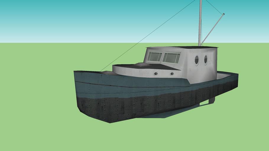 Fishing boat component