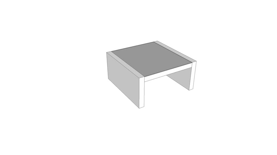 Expedit coffee table